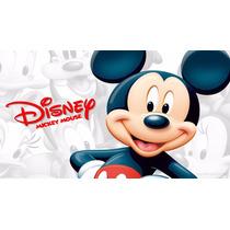 Big Painel De Festa Mickey E Minnie Mouse - Disney - 2x1