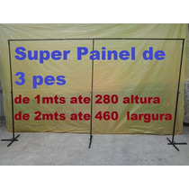 Mega Suporte Para Painel Banner Baloes 280x460