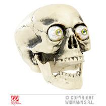 Acessório Halloween - Pvc Crânio Com Olhos Da Bolha Olhar