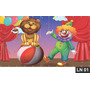 Circo Palhaço Painel 2,00x1,00 Lona Festa Aniversário Banner