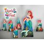 Ariel Kit Display Mdf 6mm Adesivado,decoração Festa Infantil