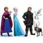 Kit Cenário Display De Chão Frozen Com 5 Peças