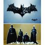 Kit Display De Chão Batman 8 Peças + Painel 2,00x1,40m