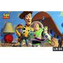 Toy Story Wood Buzz Painel Lona Festa Banner Aniversário
