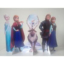 3 Display Frozen Totem Painel Cenário Mesa