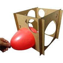Medidor De Baloes Bexigas Bolas Balão Mdf Medidas Nº3 Ao Nº9