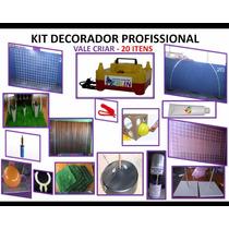 Kit Decorador Profissional - Inflador, Tela Mágica, Festa