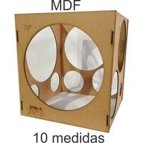 Medidor De Balão De Mdf 3mm -bexigas, Arco De Balões, Festas