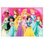 Tela Painel Festa Aniversário Tema Princesas Disney
