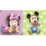 Big Painel De Festa Baby Disney - Mickey Minnie Baby 2x1,50
