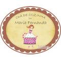 Placa Personalizada Chá De Cozinha Panela Enfeite Parede