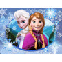 Adesivo Frozen Elsa, Anna E Olaf Decoração Quarto Personaliz