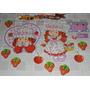 Decoração Aniversário Moranguinho Baby Fruit Painel Enfeites