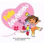 Faixa Decorativa Feliz Aniversario Festa Dora Aventureira
