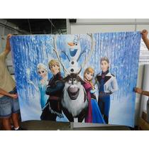 Painel Para Festa Infantil Frozen Decoração 2x2