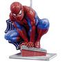 Vela De Aniversario Homem Aranha R$49,90