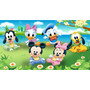 Big Painel De Festa Baby Disney - Mickey E Minnie Baby 2x1