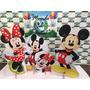 Kit Display De Chão Mickey E Minnie 8 Peças Mdf 3 Mm