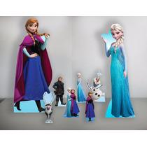 Cenário Frozen De Chão E Mesa Kit Festa, Display, Mdf Temas