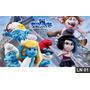 Smurfs Painel 2,00x1,00 Lona Festa Aniversario Decoração