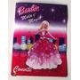 Convite Aniversario Barbie Moda E Magia (10 Unidades)