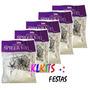 Kit C/5 Teia De Aranha Artificial Decoração Festas Halloween