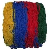 Rede Colorida Para Piscina De Bolinha 1,5 X 1,5.