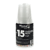 Copo Descartável Set - 151 Home Maid 15 Plastic Cups Ideal