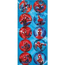 Adesivo Decorativo Redondo O Espetacular Homem-aranha 2 - R7
