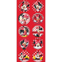 Adesivo Decorativo Redondo Red Minnie - R95 - Embalagem Com