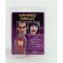 Traje Do Vampiro - Dracula Fang Caps Dentes Dia Das Bruxas F