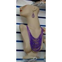 Busto Manequin Feminino Expositor P/ Colar Brinco