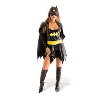 Fantasia Batgirl Heat Girls Luxo Sulamericana Batman Bat