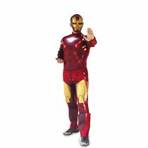 Fantasia Iron Man Homem Ferro Adulto Luxo Original Envio 24h