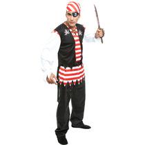 Fantasia De Pirata Masculino,pirata Do Caribe
