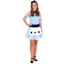 Fantasia Alice No Pais Das Maravilhas Adulto Teen