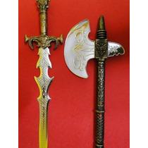 Machado Espada Fantasia Medieval Viking Romano Gladiador