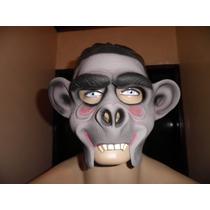 Fantasia Máscara Em Latex Macaco, Festa, Adereço