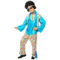 Fantasia Anos 70 Masculino,hippie,boogie Oogie,luxo