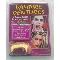 Dentes De Vampiro -presa / Dentadura - Fantasia Halloween