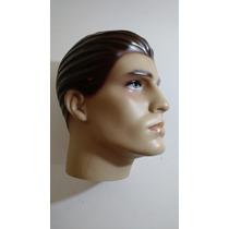 2 Cabeça Manequin Casal Masculinas Feminina P/peruca Òculos