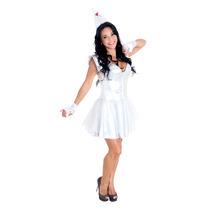 Fantasia Mulher De Lata - Mágico De Oz - Nova - Heat Girls