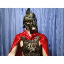 Romano Armadura Elmo Capa Capacete Gladiador Legionario