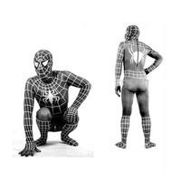 Spiderman Black ( Homem Aranha ) Cosplay Costume Fantasia