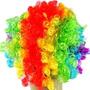 Peruca Para Festas Palhaço Color