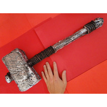 62cm Sword Martelo Thor Metal E Poliuretano Deus Trovão