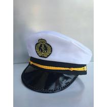 Chapéu Quepe Capitão Marinheiro