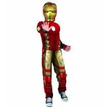 Fantasia Homem Ferro Vingadores 2 Infantil Marvel Iron Man-