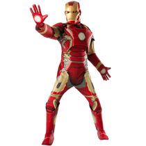 Fantasia Homem De Ferro Adulto Ed Limitada C Músculo Origina