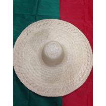 Chapeu Mexicano Sombrero Chapelão (palha)